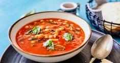 Rabbit Food, Green Kitchen, Bruschetta, Street Food, Thai Red Curry, Soup Recipes, Brunch, Dinner, Ethnic Recipes