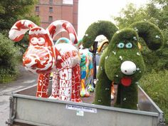 #easigrass #artificialgrass #Gromit #GromitUnleashed #Bristol #Charity