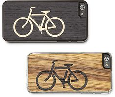 Bicycle Wooden iPhone Case