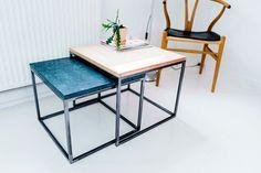 Dette indskudsbord har fået navnet Schleppegrell. Navnet er efternavnet på den succesfulde oberst Friderich Adolph Schleppegrell. Han kommanderede en brigade på 4700 mand og rykkede dygtigt frem på venstre fløj d. 6. juli 1849. Han var unik. Dette bord er også unik.  #erbsdesign #design #godstil #grøn #marmor #egetræsbordplade #upcomming #brand #ditheltegetlook #unikt #garnison #1849