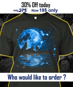 Glowing Moon and Wolves Snow Wolf, Wolf T Shirt, Wild Wolf, Wolf Moon, Wolf Howling, Beautiful Creatures, Cute Babies, Glow, Friends