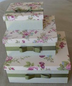 Best Ideas For Music Crafts Ideas Mason Jars Music Crafts, Hat Crafts, Diy And Crafts, Decoupage Box, Decoupage Vintage, Felt Flowers Patterns, Wooden Gift Boxes, Fabric Boxes, Idee Diy