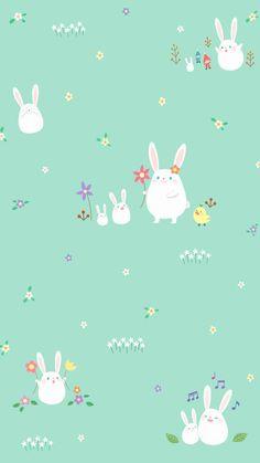 Ipad wallpaper pattern cute love 65 Ideas for 2019 Rabbit Wallpaper, Bird Wallpaper, Emoji Wallpaper, Kawaii Wallpaper, Animal Wallpaper, Colorful Wallpaper, Wallpaper Gallery, Seagrass Wallpaper, Paintable Wallpaper