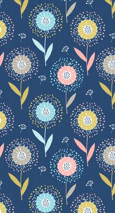 wendy kendall designs – freelance surface pattern designer » dandelion_doc