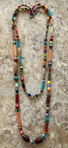 Colorful Multimedia Necklace