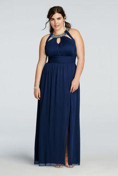 Plus size prom dresses short cut