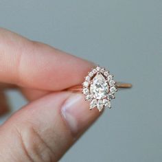 How Are Vintage Diamond Engagement Rings Not The Same As Modern Rings? If you're deciding from a vintage or modern diamond engagement ring, there's a great deal to consider. Wedding Rings Simple, Custom Wedding Rings, Beautiful Wedding Rings, Wedding Rings Solitaire, Princess Cut Engagement Rings, Beautiful Engagement Rings, Wedding Rings Vintage, Rose Gold Engagement Ring, Bridal Rings