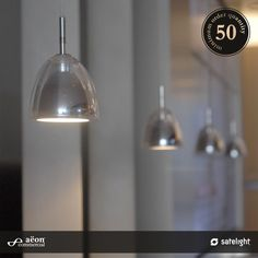 Glazen Pendant Lighting Collection - Aëon Commercial
