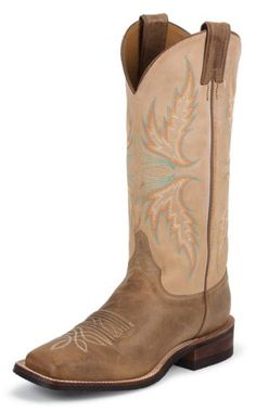 Justin Boots Women's U. Bent Rail Collection Boot Wide Square Double Stitch Toe Performance Rubber Outsole,Arizona Mocha/Fogged B US >>> Be sure to check out this awesome product. Cute Cowgirl Boots, Cowgirl Outfits, Cute Boots, Country Boots, Country Outfits, Country Wear, Country Dresses, Boot Scootin Boogie, Western Shoes