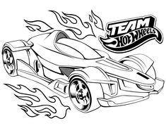 Hot Wheels Cars Coloring Pages Free 12 Image Coloring Pages
