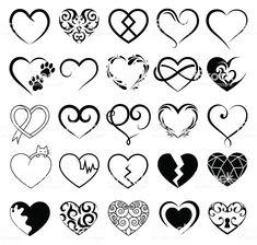 Set of 25 tattoo hearts image. - Set of 25 tattoo hearts image. Informationen zu Set of 25 tattoo hearts image. Mini Tattoos, 12 Tattoos, Sister Tattoos, Body Art Tattoos, Small Tattoos, Cool Tattoos, Tatoos, Rosary Tattoos, Bracelet Tattoos