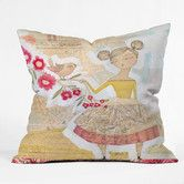 Found it at Wayfair - Cori Dantini The Secret To Happiness Indoor / Outdoor Polyester Throw Pillow