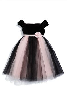Nordstrom Ballerina Dress- I can totally make this for her, looks easy enough