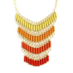Collar étnico multicolor - Makedoonia