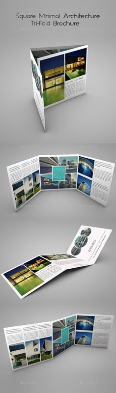 Architecture Brochure Template VerIi  Brochure Template