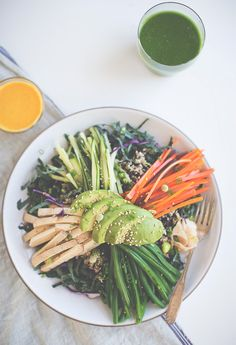 A Macrobiotic Salad | Say Yes | Bloglovin'