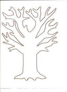 Tree template for fingerprint and tissue paper tree  http://www.mypreschool-crafts.com/uploads/8/3/1/1/8311173/falltree_001.jpg