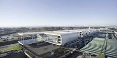 The Sheraton Milan Malpensa Airport Hotel & Conference Centre in Milan, Italy by King Roselli Architetti