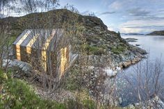 Striking Rustic Boathouse Made With Reclaimed Materials in Norway | Inhabitat - Green Design, Innovation, Architecture, Green Building