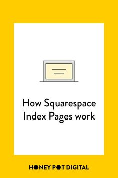 Squarespace Index Pages allow you to create a single page from multiple pages of content. Index Page formats are either stacked, grid or slideshow. Marketing Articles, Content Marketing, Index Page, Finding Love, Page Layout, Online Dating, Grid, Letters, Messages