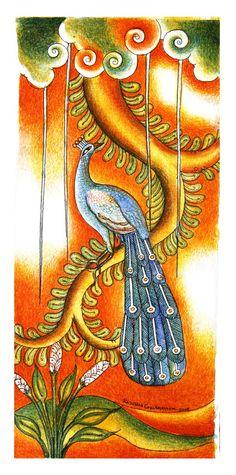 exquisite Madhubani Art, Madhubani Painting, Fabric Painting, House Painting, Mural Art, Wall Murals, Kerala Mural Painting, Traditional Paintings, Animal Paintings
