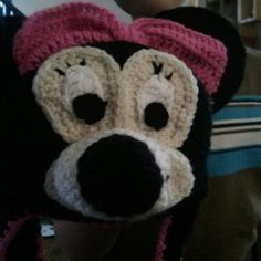 Minnie Mouse hat.