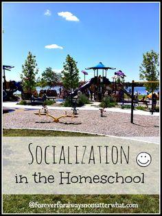 Socialization in the Homeschool