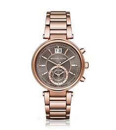 Sawyer Rose Gold-Tone Watch by Michael Kors