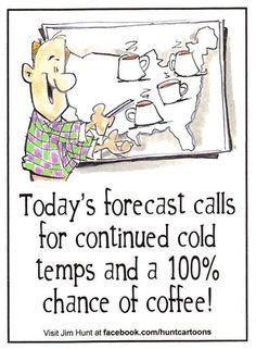 I love the forecast!