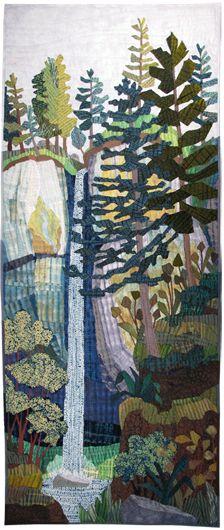 Latourell Quilt Carol Anne Grotrian carolannegrotrian.com