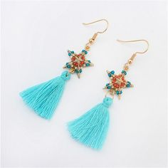 Check out the site: www.nadmart.com   http://www.nadmart.com/products/2016-new-fashion-women-star-earrings-aretes-de-mujer-boho-gem-dangle-tassel-hot-beauty-1-pair-jewelry/   Price: $US $1.34 & FREE Shipping Worldwide!   #onlineshopping #nadmartonline #shopnow #shoponline #buynow