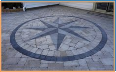 compass star gray pavers - Google Search