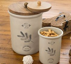 Vintage Food Treat Container #potterybarn