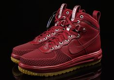 pretty nice 6e80d 6f8e4 Nike Lunar Force 1 Duckboot Team Red 805899-600