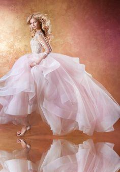 Hayley Paige Lorelei 6654 Wedding Dress photo