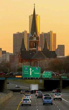 Our town. Detroit.