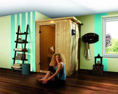 Sauna Traditionnel LENJA 2 à Couronne 68 mm 149 x 149 x 205 cm Plug and Play KARIBU avec Poêle 3.6 kW Intégré Profitez de notre prix exceptionnel de 1470€ sur lekingstore.com Contactez nous au 01.43.75.15.90