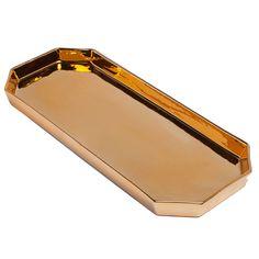 Gold Boudoir Tray