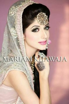 Mawra Hocane Photoshoot for Mariam's bridal salon