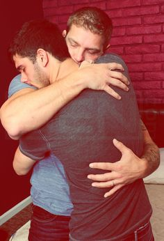 Nothing like a hug from someone you care so much about.