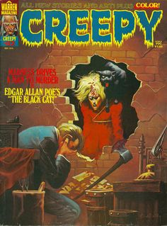 Cover for Creepy (Warren, 1964 series) #62  May 1974