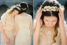 Melinda Rose Diseño Otoño / Invierno 2015 Colección: Mi Amado    Velos de novia hechos a mano y de la boda accesorios para el cabello    Erich Fotografía McVey