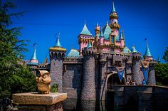 Sleeping Beauty Castle. So pretty!