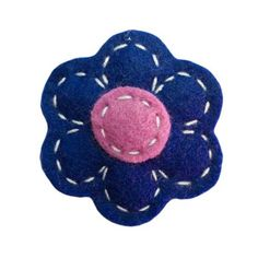 Clothing | VIVAIODAYS Giddy Giddy FLOWER HAIR CLIP - MIDNIGHT BLUE $8.00
