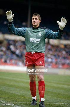 1988 Football League Centenary Festival at Wembley Nottingham Forest goalkeeper Steve Sutton Nottingham Forest Fc, Goalkeeper, Football, Running, Soccer, Pictures, English, Goaltender, Photos