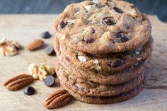 Nutty Chocolate Chip CookiesReally nice recipes. Every hour.Show  Mein Blog: Alles rund um Genuss & Geschmack  Kochen Backen Braten Vorspeisen Mains & Desserts!
