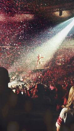 Saw her like two nights ago!!! AMAZING CONCERT!!!! And Ed!!!! She was the best!!!!!!! great concert!!!! I will post my pictures and videos soon!! :D (this pic is not mine but i had this same view exactly!!) -S