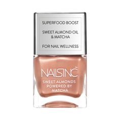 Pin for Later: 25 Rose-Gold Beauty Buys That'll Brighten Up Your Makeup Bag Nails Inc Sweet Almond in Mayfair Mews Market Nails Inc Sweet Almond in Mayfair Mews Market (£14)
