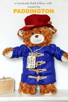 A handmade Build-A-Bear outfit inspired by PADDINGTON #PaddingtonMovie #sponsored