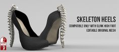 Skeleton Heels - Whore Couture Fair | Flickr - Photo Sharing!